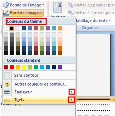 Pour Word by Comment Choisir Une Bordure Pour Une Image Sur Word