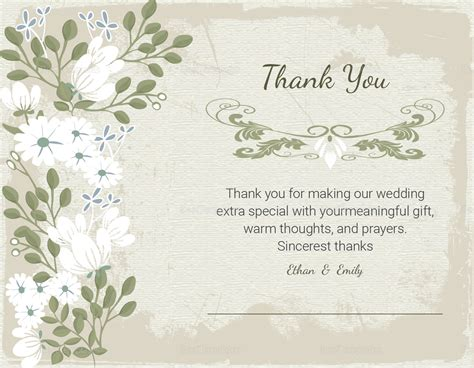 thank you card template indesign vintage thank you card template in psd word publisher
