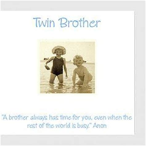 twin brother birthday quotes