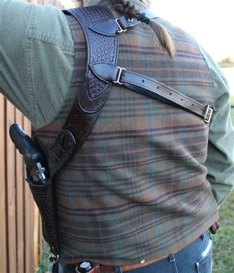 Ruger GP100 Shoulder Holster Leather