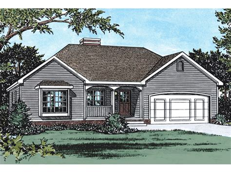 dunbar spring ranch home plan   house plans