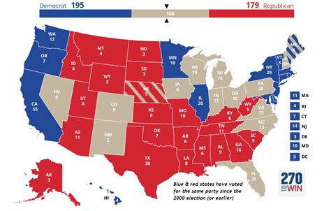 presidential election interactive map manual guide