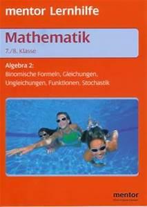 Gewinnchance Berechnen : mathematik algebra 2 7 8 klasse rsr algebra 2 binomische formeln gleichungen ~ Themetempest.com Abrechnung