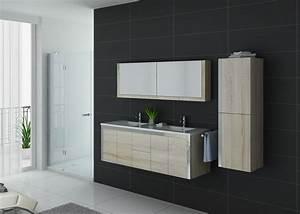 Meuble Salle De Bain Moderne : meuble salle de bain ref dis025 1500sc ~ Nature-et-papiers.com Idées de Décoration