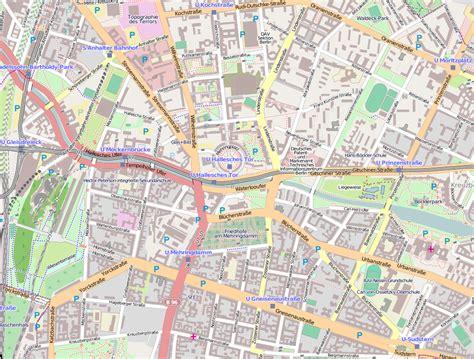 Karte Berlin Neukölln