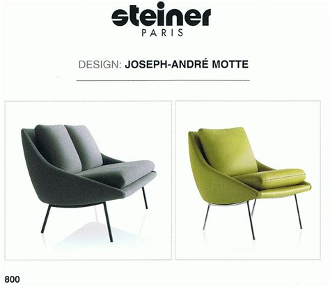 canape steiner steiner fauteuil et canape 800 siege meubles design