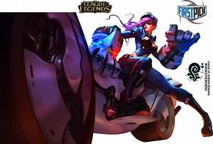 Officer Vi League of Legends Render by RikkuTenjouSs on ...