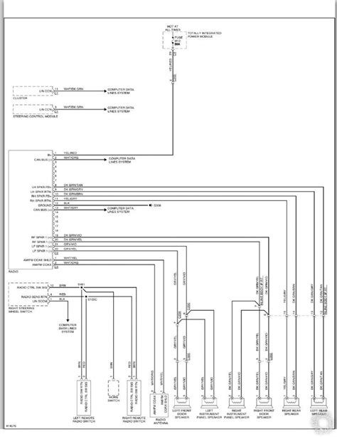 Dodge Caravan Stock Radio Wiring Diagram