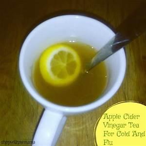 How To Make Apple Cider Vinegar Tea For Cold And Flu ...