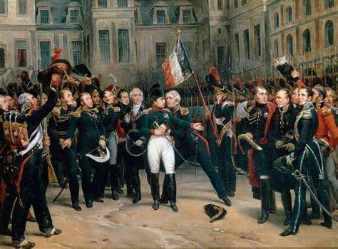 le bureau la garde file montfort adieux de napoleon a la garde imperiale