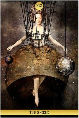 Best Images About The World Tarot Card Pinterest