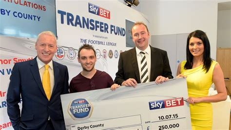 Derby County win £250,000 from Sky Bet Transfer Fund ...