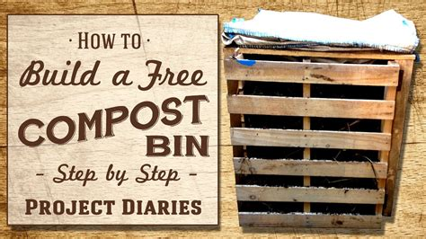 build   compost bin step  step guide