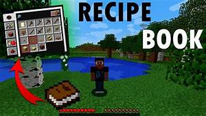 MINECRAFT : Recipe Book 1.12 - YouTube