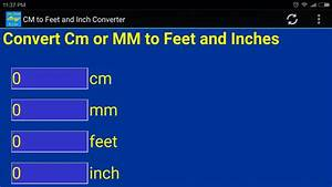 6 3 En Cm : cm mm to inch feet converter tool android apps on ~ Dailycaller-alerts.com Idées de Décoration