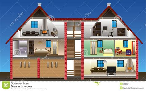 vector house stock vector illustration  clean condo
