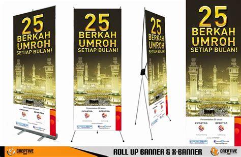 contoh desain banner umroh contoh desain banner desain bali indonesia dan bali