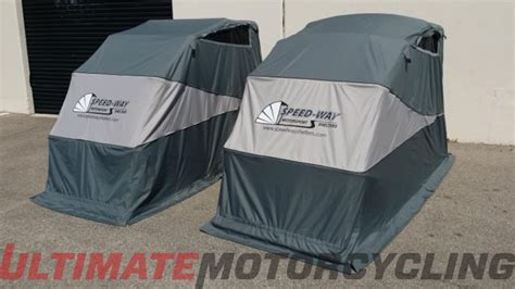 Retractable Motorcycle Covers