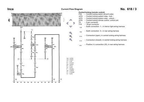 seat inca toledo ibiza central locking wiring diagram