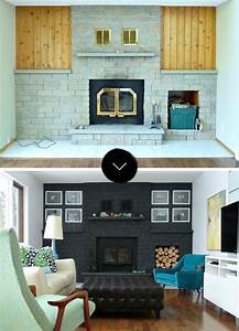 Before After Gorgeous Fireplace Makeovers DesignSponge