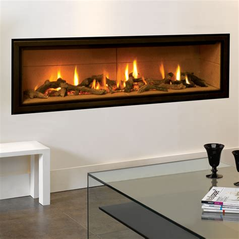 Flames Fireplaces by Gazco Studio 3 Edge Gas Fire Flames Co Uk