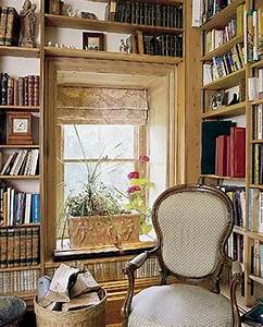 Inspiring, Home, Library, Design, And, Decorations, 4