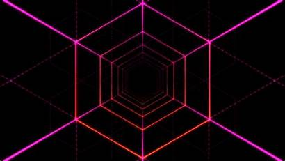 Effect Animation Abstract Tunnel Space Retro Cool