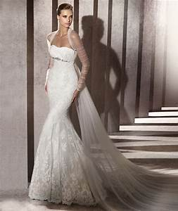 wedding dresses by pronovias for tall brides tallook With wedding dresses for tall brides