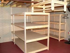 PDF DIY Basement Shelves 2×4 Plans Download backyard
