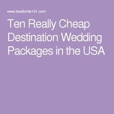 ideas  affordable wedding packages  pinterest