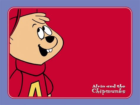 My Free Wallpapers Cartoons Wallpaper Alvin And The