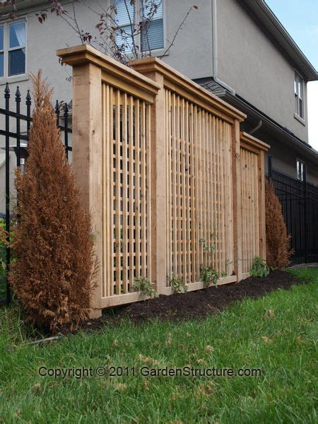 Backyard Privacy Screens Trellis by How To Make Your Own Outdoor Privacy Screen Woodworking