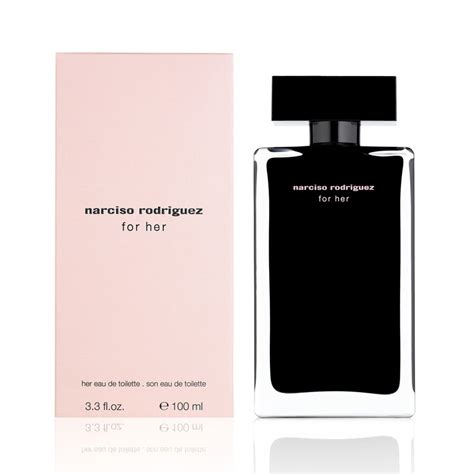 narciso rodriguez for eau de toilette 100 ml spray