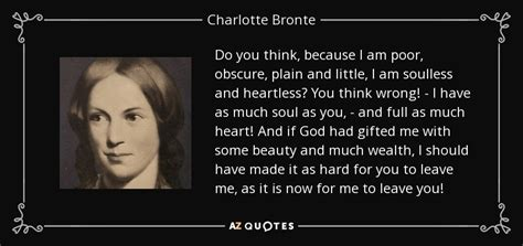 charlotte bronte quote       poor