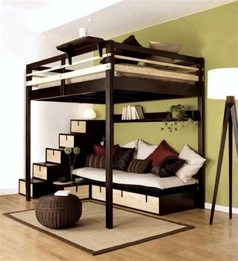 petit canape pour chambre ado room bed on stilts kidspace interiors