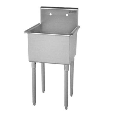 home depot utility sinks stainless steel griffin products t series 27 in x 27 1 2 in x 42 in