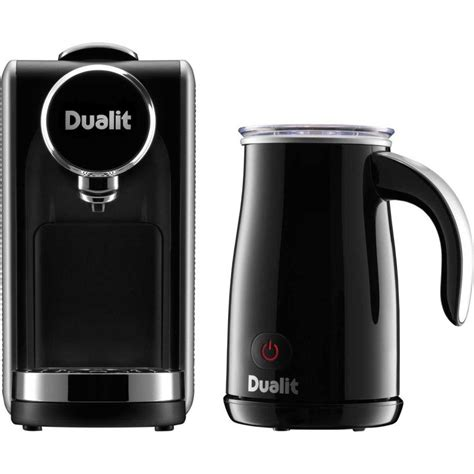 The fully automatic electric milk frothers, in contrast. Dualit Lusso 900W Coffee Machine and Milk Frother Black Review