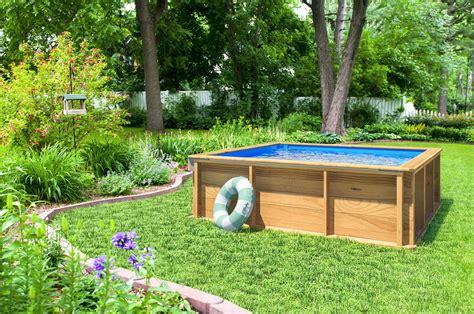 piscina madera jardin elevada infantil p equipatuvivienda