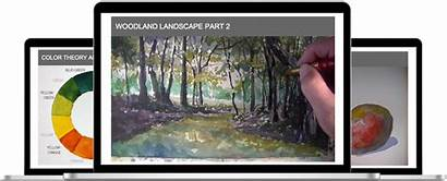 Watercolor Workshop Thevirtualinstructor Members Definition