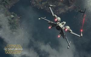 T-65, X-wing, Starfighter, -, Star, Wars, The, Force, Awakens, Wallpaper, -, Movie, Wallpapers