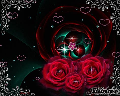 Animated Roses Wallpaper - animated wallpaper picture 124941550 blingee