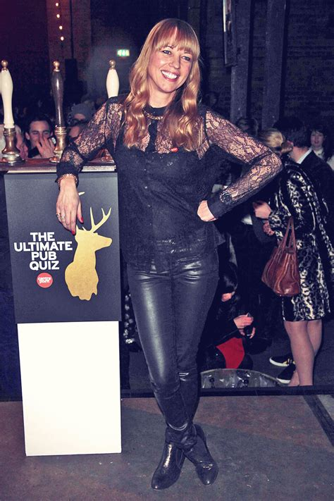 sara  attends centrepoints ultimate pub quiz leather