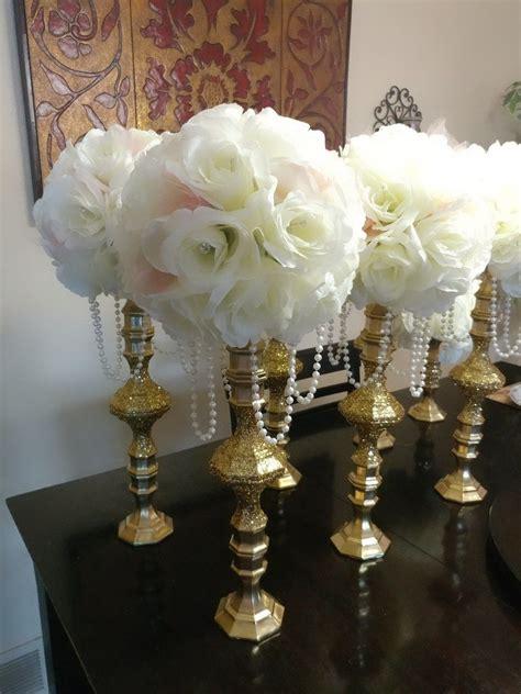 dollar store candle holders losoya wedding diy