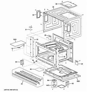 Ge Psb9240sf3ss Microwave Parts