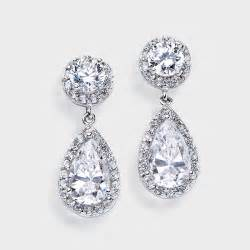 bridesmaid earrings birkat elyon releases gorgeous autumn cz wedding jewelry for cost conscious brides