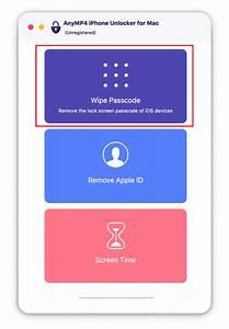 User Guide Of Anymp4 Iphone Unlocker For Mac