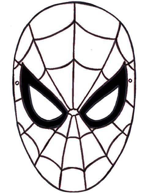 disegni  spiderman da colorare  stampare fare  una