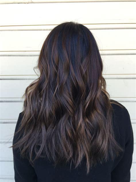 Dark Brown Balayage My Hair Brown Hair Balayage