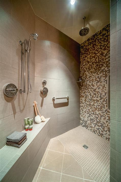 walk in shower plans the pros and cons of a doorless walk in shower design when