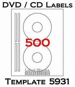 500 cd dvd laser and ink jet labels template 5931 8931 With avery template 5931 download